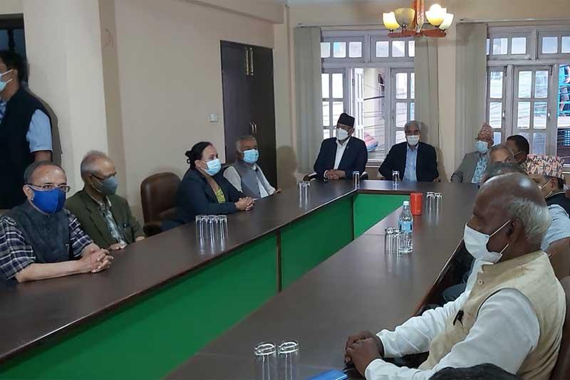 gathabandhan ko meeting