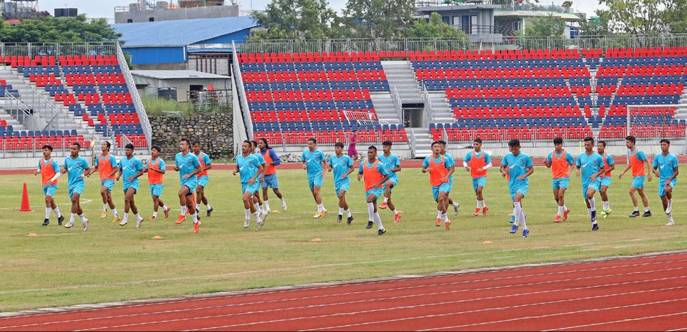 football in pokhara